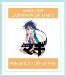Magi: The Labyrinth of Magic - Icon by oakabdulla