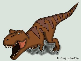 Trex by Angrybird54