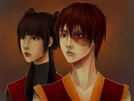 Zuko and Mei by SkyFreim