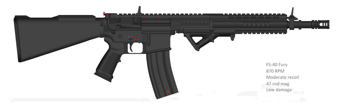 FS-40 Carbine Rifle by Artmarcus