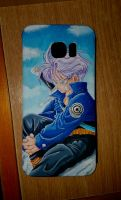 [DIY] S7 Edge Cover Painting - Futute Trunks by BeckyVida