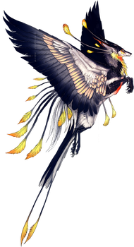 Winged Tropic Feonix by NukeRooster