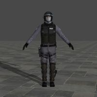 47 S.W.A.T with helm - Hitman Absolution by TheForgottenSaint47