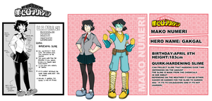 Mako (OC profile ) INFO UPDATE by That-oneartist