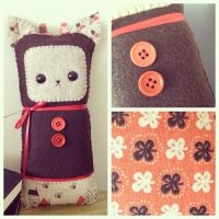 Patchwork Plush by littlepaperforest