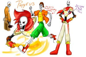 Undertale: Papyrus by perfectshadow06