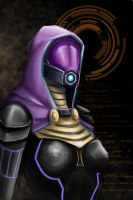 Tali Vas Normandy by rabid-one