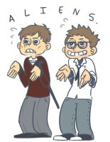 Newt and Hermann by SOLAR-CiTRUS