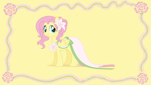 Fluttershy Wallpaper  by prensestwilight01