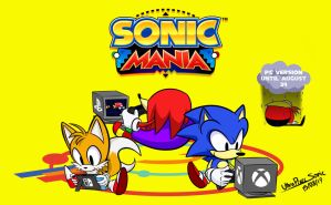 Sonic Mania Launch Day by UltraPixelSonic