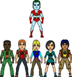 Captain Planet  the Planeters by BAILEY2088