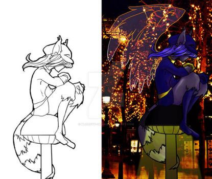 Sly_Cooper_Covers_both by bloodyd-chan