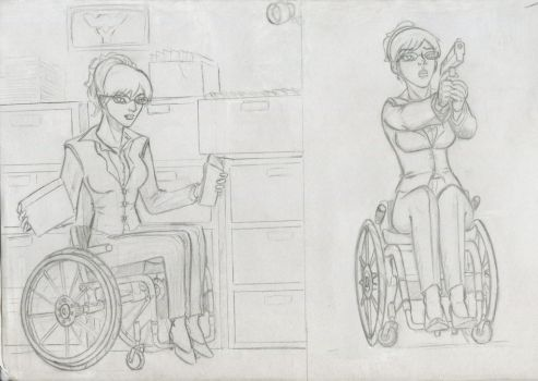 Handicapped Investigator by ma3a2001
