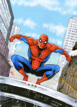 Spider Man in NYC. by marcel815