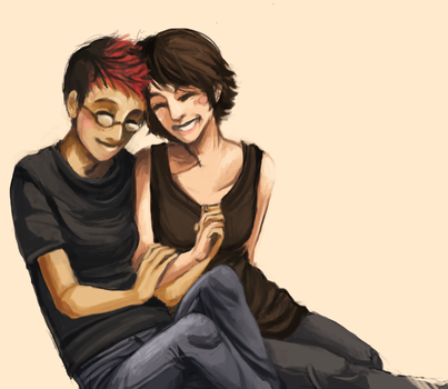 jenSQUARED request - happiness by ramhay