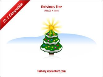 Christmas Tree - MacOS X 10.5 by faktory