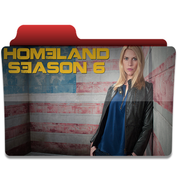 Homeland Season 6 folder icon by PanosEnglish
