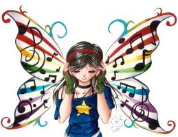 Wings of my Music by Aisuki-Chan
