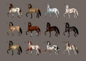 [OPEN] Horse Adopts by Cryptillian
