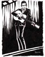 Johnny Cash by TessFowler