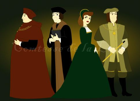 Tudor Villains by Comtessedelalune