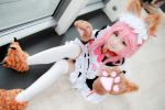 Fate/Grand Order - Tamamo no Mae Tail Maid by Xeno-Photography