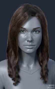 Jana Hair test by peawy