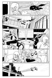 Spider-man comic Page 3 of 5 (UPDATED) by patoftherick
