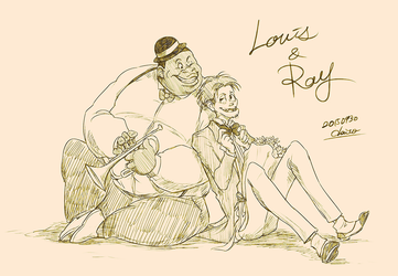 Louis and Ray by chacckco