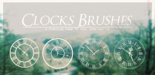 Clock Brushes by Some-writer