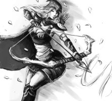 Ashe the Frost Archer by JamesExcalibur