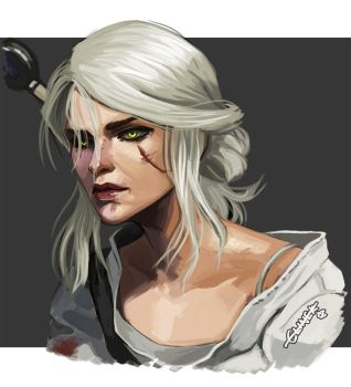 Ciri by halibearish