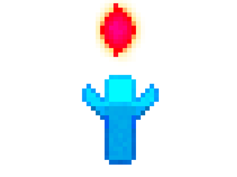 ALL HAIL THE RED CRYSTAL by worldglitch