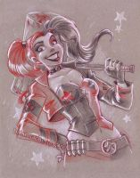 New 52 Harley by briannacherrygarcia