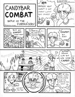 OLD WORK Candybar Combat pg 1 by Booter-Freak