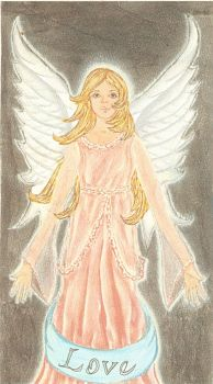 Angel of Love by archaicarts