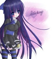 Stocking from double meme by Subiculum