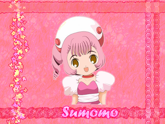 Chobits: Sumomo Wallpaper by jussaldra