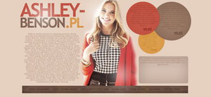 Ashley Benson Brown Layout by Imfearless