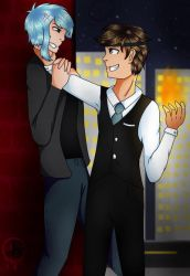 Jason and Jack  by Pinkwolfly