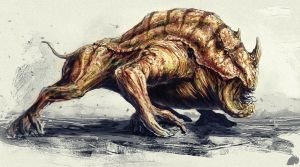 Sand boar by NewmanD