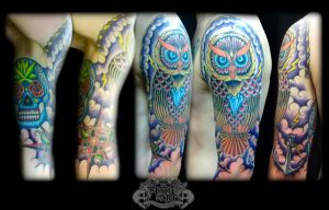 Owl by state-of-art-tattoo