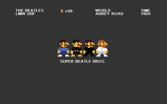 The Super Beatle Bros by Toomi5
