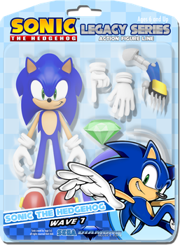 Sonic Legacy Series of Action Figures by Nerdword