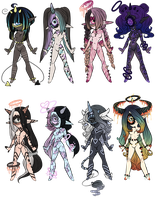 Xynthii: Adopts: 2/8 OPEN by ObsceneBarbie