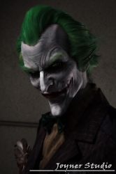 Arkham Asylum Joker Makeup by JoynerStudio