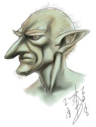 Goblin Sketch by arcais