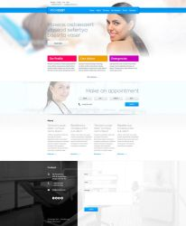 Provident - dental website by trzyGie
