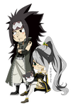 C: Gajeel x Argentum plus lilly by Sis-chan