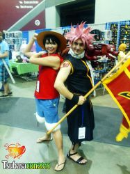 Natsu and Luffy, on an adventure! by MasterBlackburn